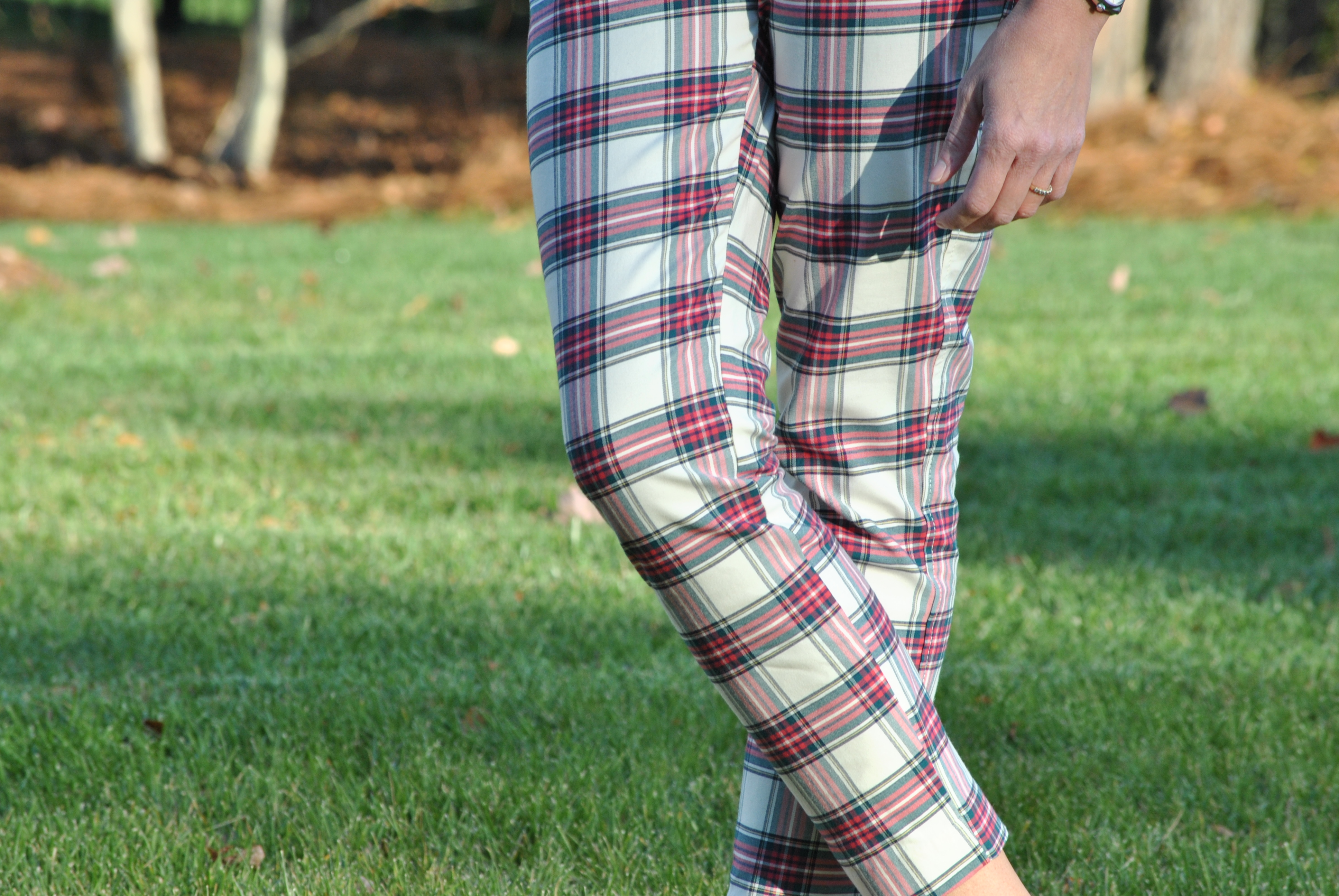 Old Navy Plaid Pixie Pants Plaid Pixie's From Old